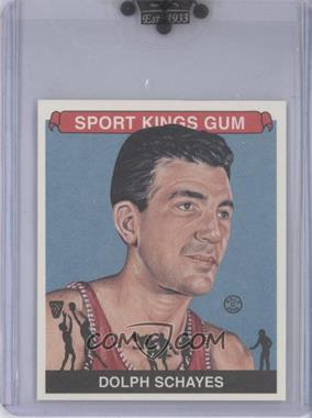 2008 Sportkings Series B Mini #56 - Dolph Schayes