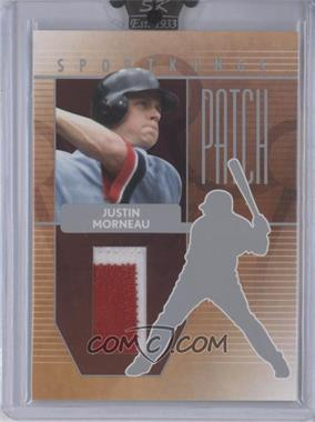 2008 Sportkings Series B Patch Silver #P-15 - Justin Morneau