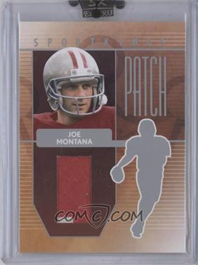 2008 Sportkings Series B Patch Silver #P-22 - [Missing]
