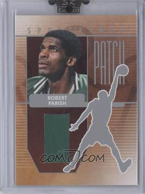2008 Sportkings Series B Patch Silver #P-23 - Robert Parish