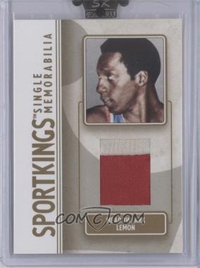 2008 Sportkings Series B Single Memorabilia Gold #SM-29 - Melvin Levett /10