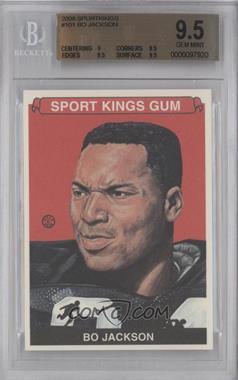 2008 Sportkings Series B #101 - Bo Jackson [BGS9.5]