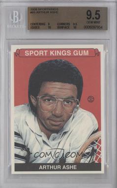 2008 Sportkings Series B #65 - Arthur Ashe [BGS9.5]