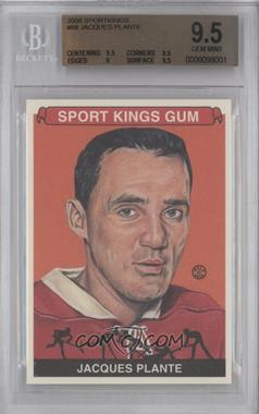 2008 Sportkings Series B #88 - Jacques Plante [BGS 9.5]