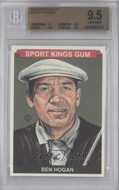 2008 Sportkings Series B #92 - Ben Hogan [BGS 9.5]