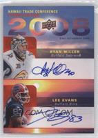 Ryan Miller, Lee Evans