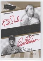 Kirk Gibson, Kirk Gibson, Orlando Hernandez, Orel Hershiser /50