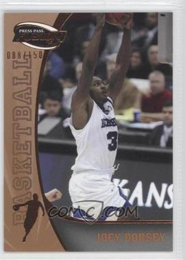 2009 Press Pass Fusion Bronze #19 - Joey Dorsey /150
