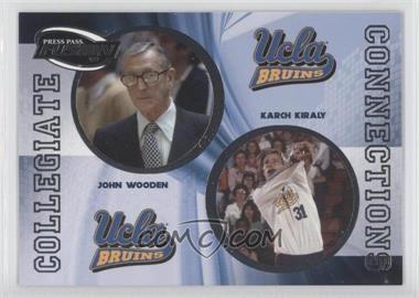 2009 Press Pass Fusion Collegiate Connections #CCN-10 - Joe Wolf, John Wooden