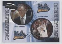 John Wooden, Karch Kiraly