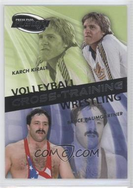 2009 Press Pass Fusion Cross Training #CT-2 - Karch Kiraly, Bruce Baumgartner