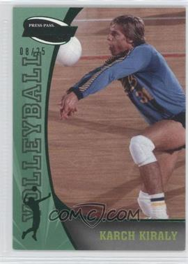 2009 Press Pass Fusion Emerald #84 - [Missing] /25