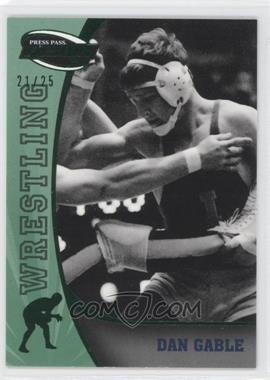 2009 Press Pass Fusion Green #86 - Dan Gable /25