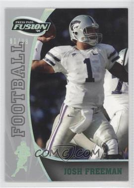 2009 Press Pass Fusion Onyx #42 - Josh Freeman /99