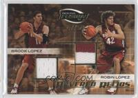 Bret Lockett, Brook Lopez, Robin Lopez /50
