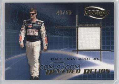 2009 Press Pass Fusion Revered Relics Gold #RR-DEJ - Dale Earnhardt Jr. /50