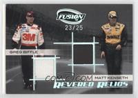 Greg Biffle, Matt Kenseth /25