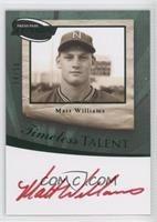 Matt Williams /50