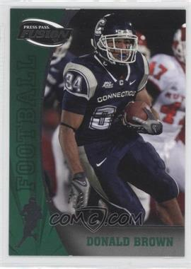 2009 Press Pass Fusion #39 - Donald Brown