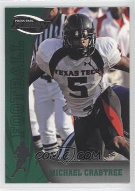 2009 Press Pass Fusion #40 - Michael Crabtree