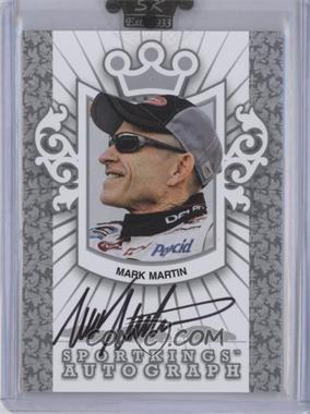 2009 Sportkings Series C - Autographs - Silver #A-MMA2 - Mark Martin