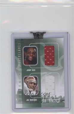 2009 Sportkings Series C - Cityscapes Double - Silver #CSD-2 - Jerry Rice