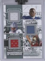Lawrence Taylor, Barry Sanders, Jerry Rice