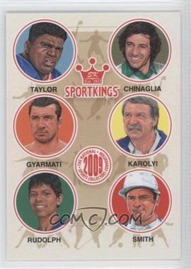 2009 Sportkings Series C [???] #VIP-6 - Lawrence Taylor, Giorgio Chinaglia, Dezso Gyarmati, Bela Karolyi, Wilma Rudolph, Cecil Smith