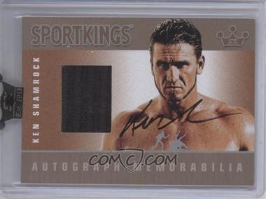 2009 Sportkings Series C Autograph - Memorabilia Silver [Autographed] #AM-KS2 - Ken Shamrock