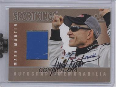 2009 Sportkings Series C Autograph - Memorabilia Silver [Autographed] #AM-MMA2 - Mark Martin