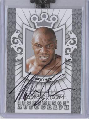 2009 Sportkings Series C Autographs Silver [Autographed] #A-1 - Mike Tyson