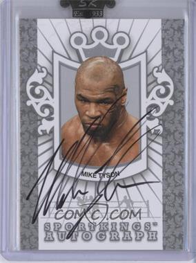 2009 Sportkings Series C Autographs Silver [Autographed] #A-2 - Mike Tyson