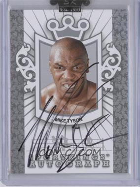 2009 Sportkings Series C Autographs Silver #A-MT1 - Mike Tyson