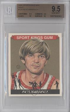 2009 Sportkings Series C Mini Gold #PEMA - Pete Maravich /3 [BGS 9.5]