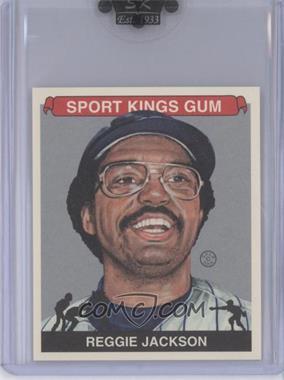 2009 Sportkings Series C Mini Silver #REJA - Reggie Jackson /7