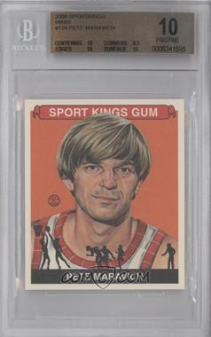 2009 Sportkings Series C Mini #124 - Pete Maravich [BGS 10]