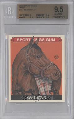 2009 Sportkings Series C Mini #137 - Seabiscuit [BGS 9.5]