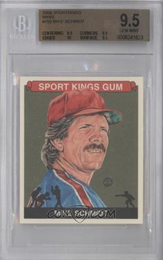 2009 Sportkings Series C Mini #153 - Mike Schmidt [BGS 9.5]