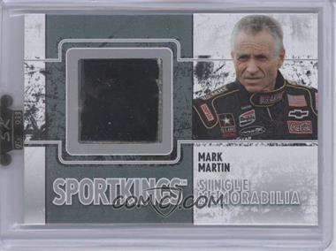 2009 Sportkings Series C Single Memorabilia Silver #SM-10 - Mark Martin