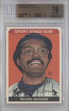 2009 Sportkings Series C #110 - Reggie Jackson [BGS10]