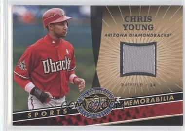 2009 Upper Deck 20th Anniversary Retrospective Memorabilia #MLB-CY - Chris Young