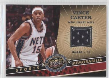 2009 Upper Deck 20th Anniversary Retrospective Memorabilia #NBA-VC - Vince Carter