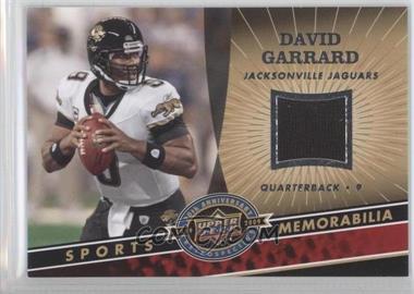 2009 Upper Deck 20th Anniversary Retrospective Memorabilia #NFL-DG - David Garrard