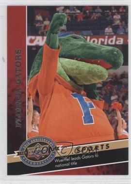 2009 Upper Deck 20th Anniversary Retrospective #1089 - Florida Gators