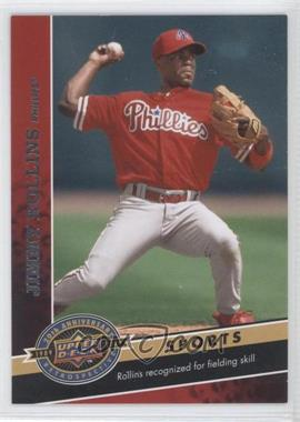2009 Upper Deck 20th Anniversary Retrospective #1445 - Jimmy Rollins