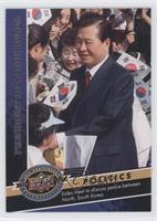 Kim Dae-Jung wins Nobel Peace Prize
