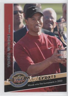 2009 Upper Deck 20th Anniversary Retrospective #1820 - Tiger Woods