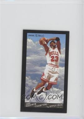 2009 Upper Deck Goodwin Champions - [Base] - Mini Black Border Gypsy Queen Back #114 - Michael Jordan
