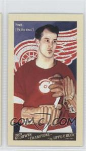 2009 Upper Deck Goodwin Champions - [Base] - Mini #140 - Gordie Howe