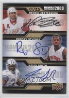 Henrik Zetterberg, Rodney Stuckey, Kevin Smith /25